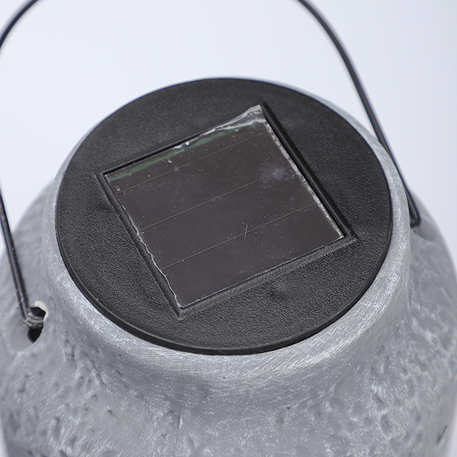 Solar Lantern with metal handle