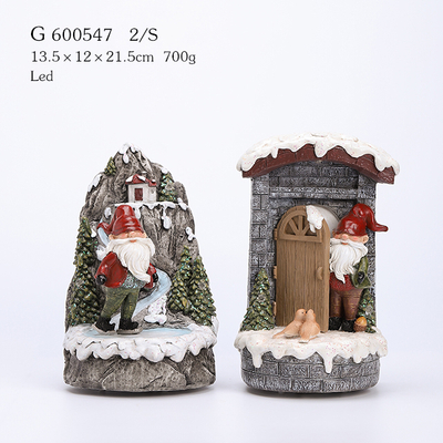 2/A Polyresin Christmas Decoration with Led